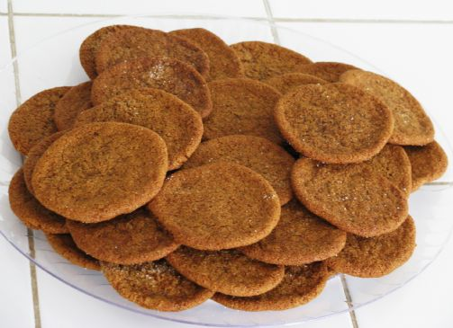 Ginger Wafer Cookies
