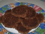 Nutmeal Fudgy Brownie Cookies