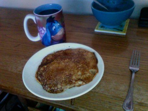 Simple Pumpkin Pancakes