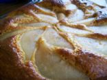 Pear - Crowned Ginger Cake