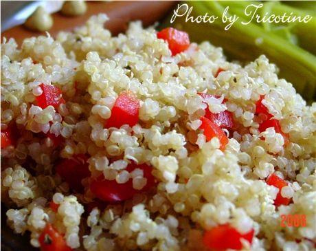 Quinoa a la Tricotine