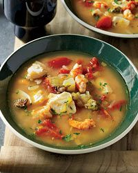 Shrimp & Smoked Oyster Chowder (Food and Wine 3/2010)