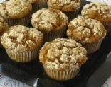 Whole Wheat Sweet Potato Muffins