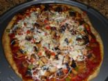 Pizza with Trader Joes Balsamic Chicken