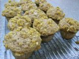 Super - Banana Muffins with Graham Cracker Streusel