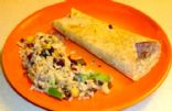 Veggie Crumble Rice Enchilada