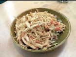 Lap-band Friendly: Creamy-Savory Cole slaw