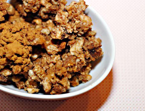 Low-Carb, Gluten-Free Granola (Walnut)