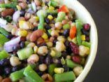 Sweet & Tangy Bean Salad