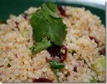 Quinoa Cranberry and Cashew Salad
