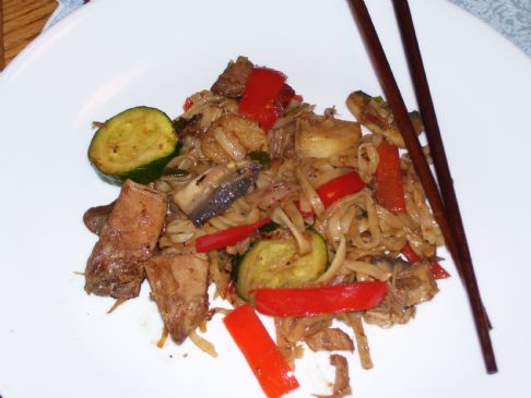 Leftover Szechwan Pork