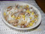 Rice Turkey and Corn