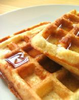 Bisquick Waffles (Belgian Iron)