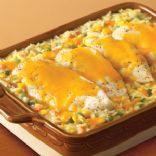 Campbell's Cheesy Chicken & Rice Casserole