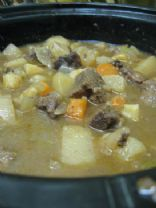 Beef Stew via Crock Pot