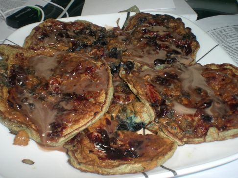 Low Carb Blueberry Pancakes