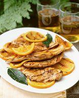 Sour Orange Chicken Paillards