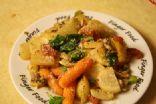 turnip veggie fry