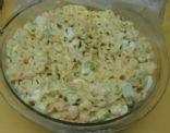 Macaroni with Shrimp Salad