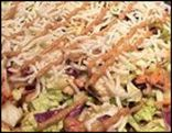 CPK Thai Crunch Salad (large, no dressing)