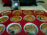 Plum Graham Oat Muffins