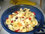 Kel's Zingy Fruit Salad