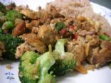 Vegan Cashew Broccoli Tofu Stir-Fry