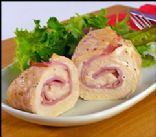 Hungry Girl Chicken Cordon Bleu