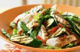 Chargrilled chicken and vegatable salad