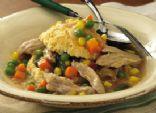 Simplified Slow Cooker Chicken Pot Pie