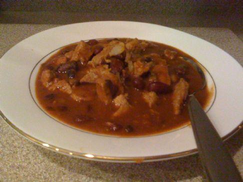 Quick Pork Loin Chili