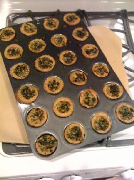 Jenny's Vegan Mini Spinach Cheezy Pie Cups