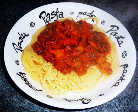 Antioxidant Spaghetti Sauce with Whole Wheat Pasta