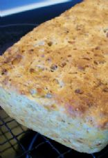 Caramelized Onion, Garlic and Sesame Bread