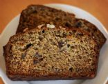No Sugar Added Banana Flax Bread