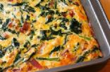 Kale & Onion Egg Bake