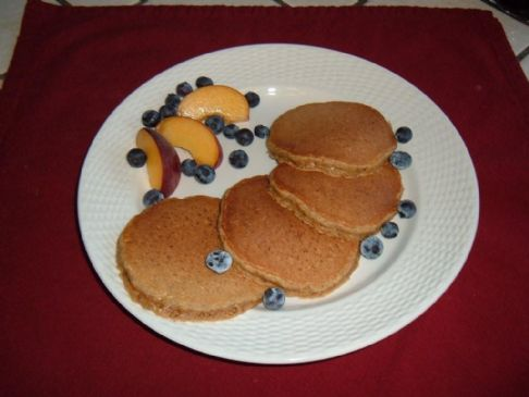 Brown Sugar, Flax & Oatmeal Pancakes
