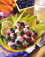 Lemon-Berry Chicken Salad