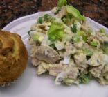 Tuna Salad with Green Onions & Light Mayo