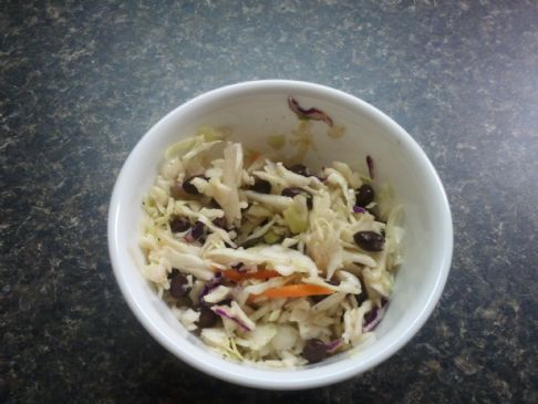 Black Bean Coleslaw
