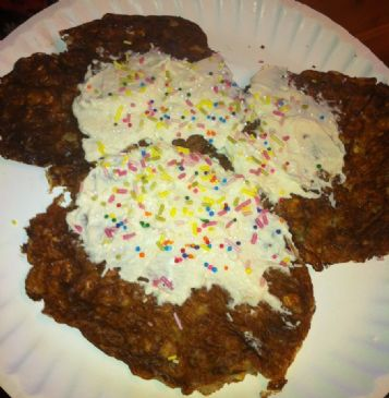 Cake Batter Protein Pancakes