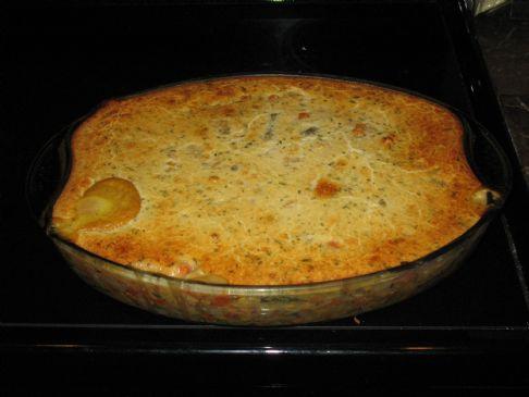 Chicken and Tarragon Pot Pie