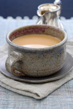 Indian Chai with skim milk