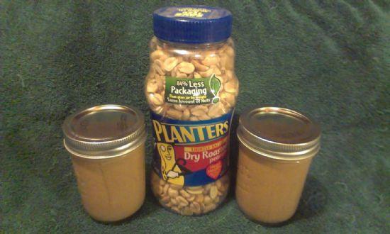 Homemade Peanut Butter (Gluten-Free)