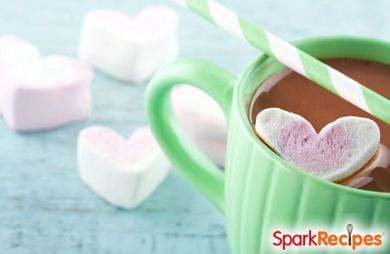 Homemade Heart-Shaped Marshmallows