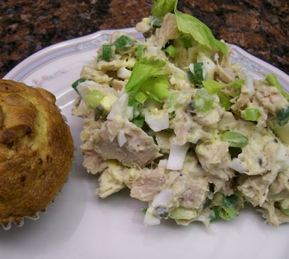 Tuna Salad with Green Onions & Light Mayo