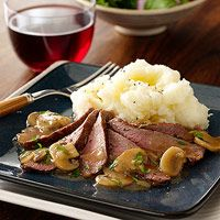 Strip Steak Diane