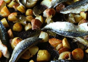 Hugh's Mackerel, New Potatoes & Shallots
