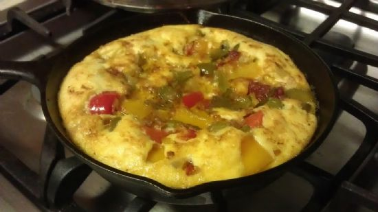 Pepper & Onion Frittata