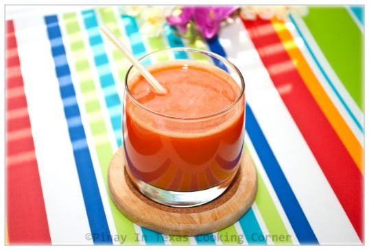 Orange Grapefruit Strawberry Juice